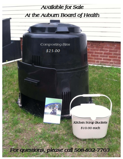 Composting Bin and Kitchen Scrap Bucket Available for Sale