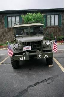 Antique Army Jeep
