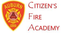 Auburn Mass Fire patch with Citizen's Fire Academy