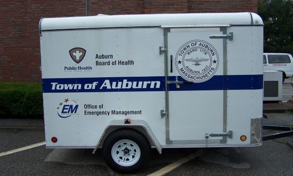 Board of Health / Emergency Management trailer 2010 Kristi Trailer